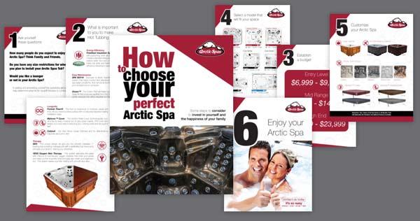 choose hot tub brochure