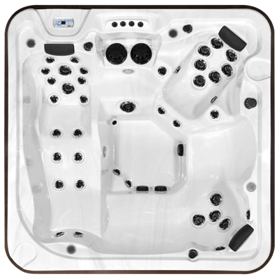 Top view of the Athabascan All Weather Pool model